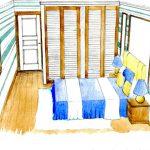ЖК «Водники» спальня